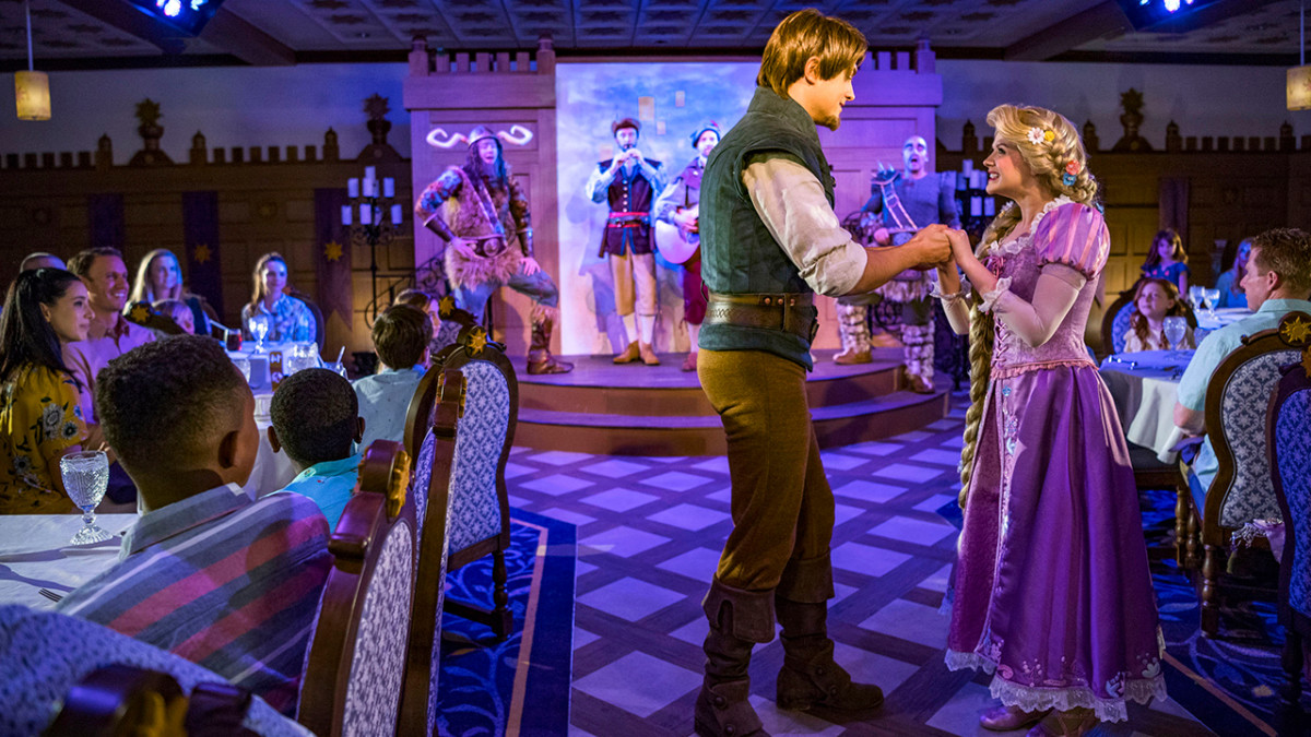 Enchanted Dining Awaits at Rapunzel's Royal Table Aboard the Disney Magic 1