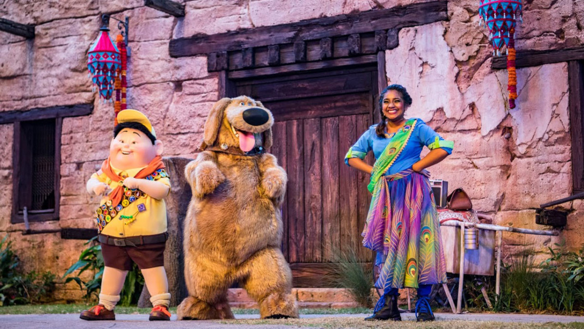 'UP! A Great Bird Adventure' Debuts Today at Disney's Animal Kingdom 5