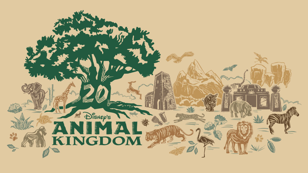 Iconic Centerpiece of Disney's Animal Kingdom Inspires 20th Anniversary Merchandise Collection 2