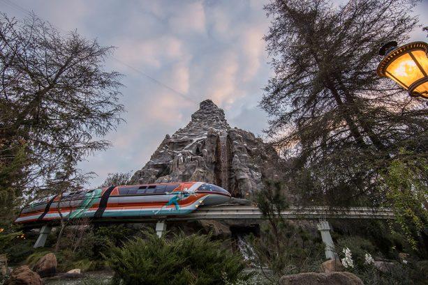 Pixar-Inspired Disneyland Monorail