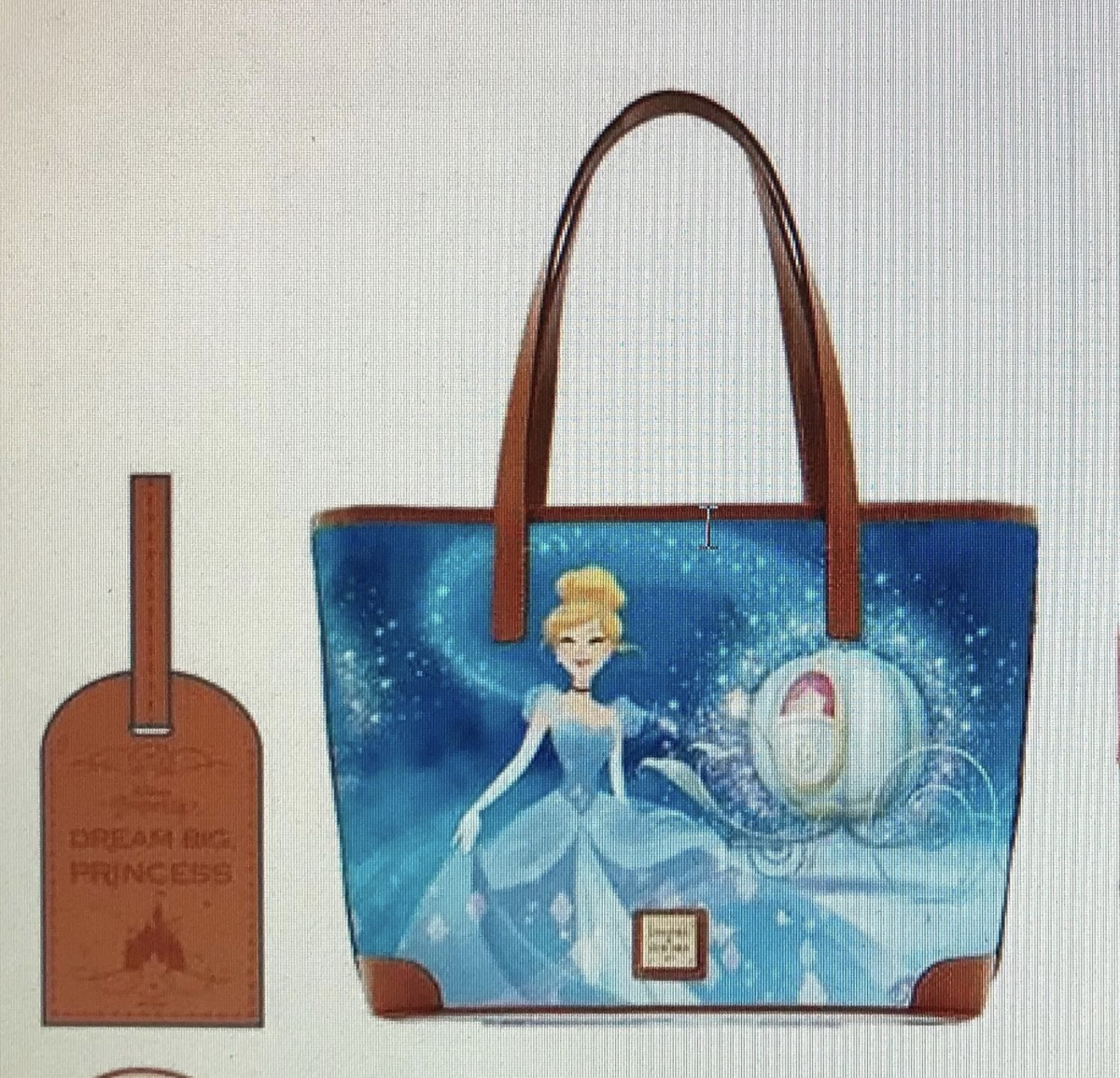 NEW Cinderella Dooney & Bourke Bags Coming to Disney Parks! Rainbow Headband Ears too! #disneystyle 2