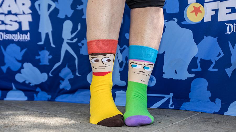 Pixar Fest Socks