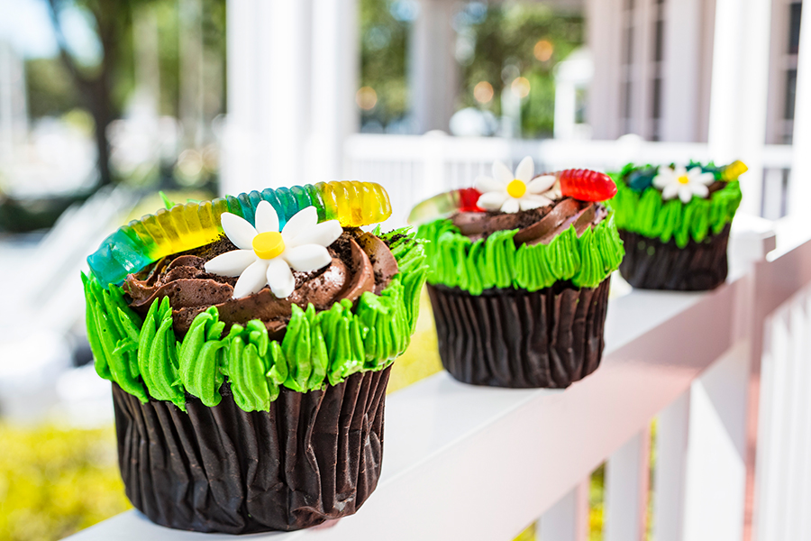 Earth Day Cupcake at Disney's Yacht & Beach Club Resorts