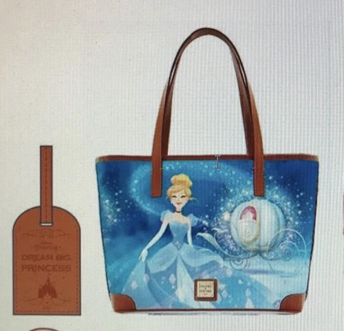 NEW Cinderella Dooney & Bourke Bags Coming to Disney Parks! Rainbow Headband Ears too! #disneystyle 1