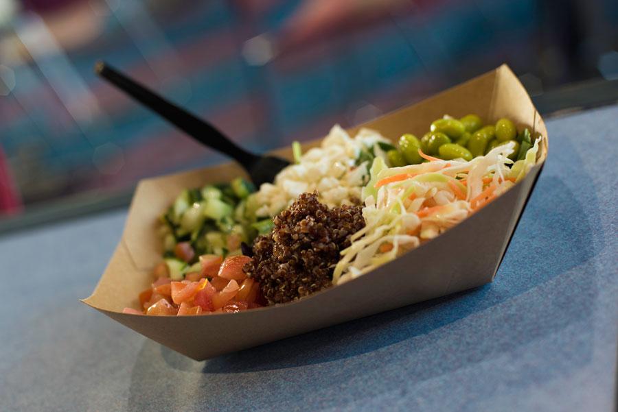 Vegetable Quinoa Salad at Electric Umbrella at Epcot