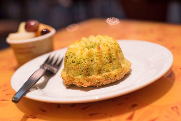 Broccoli Egg White Soufflé at Sunshine Seasons at Epcot