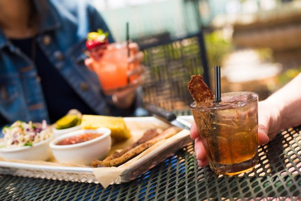 Smoked Brisket and Hurry Sundown Old Fashioned at House of Blues® Restaurant & Bar on the Disney Springs Bourbon Trail