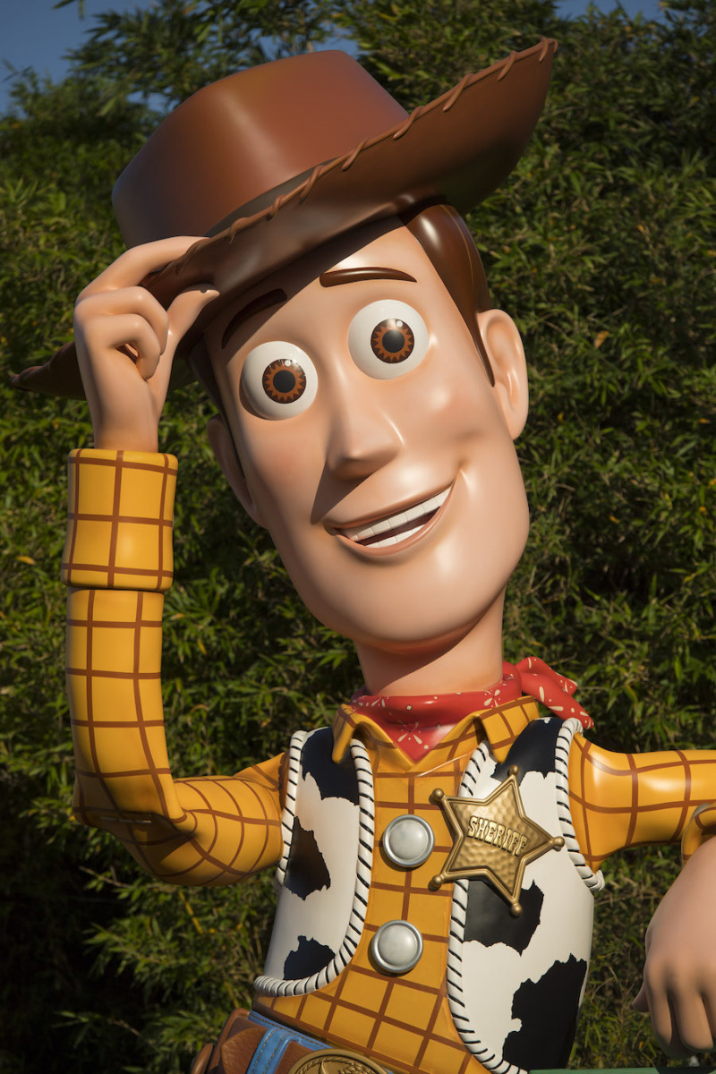 Woody Arrives in Toy Story Land at Disney's Hollywood Studios