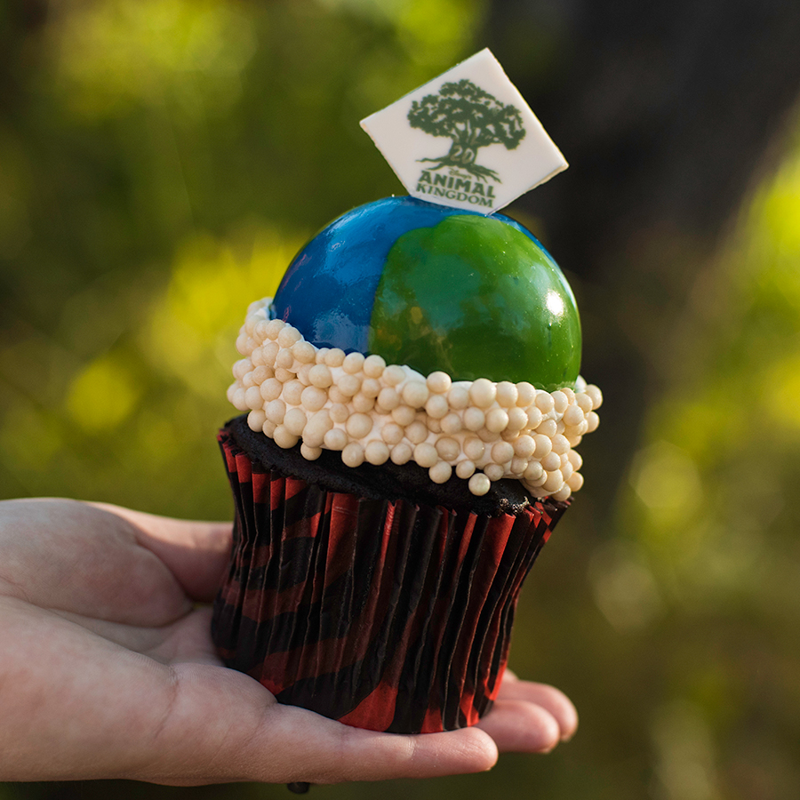 Earth Day Cupcake at Disney's Animal Kingdom Theme Park for Party for the Planet