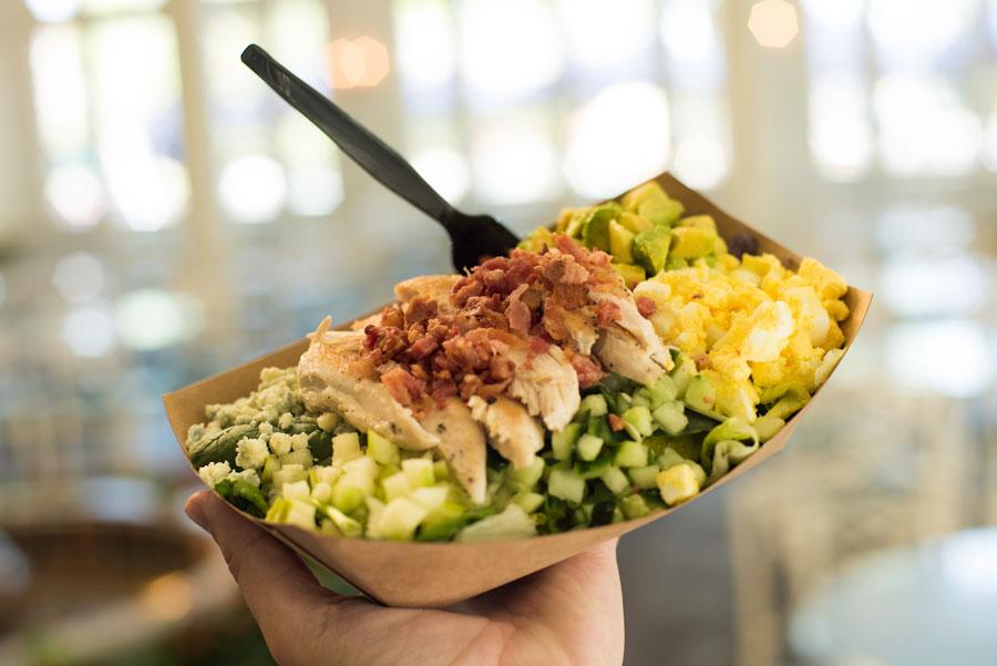 Cobb Salad at Liberty Inn at Epcot