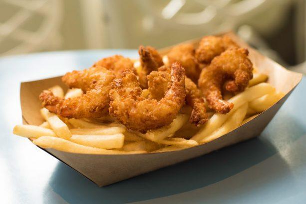 Fried Shrimp at Liberty Inn at Epcot