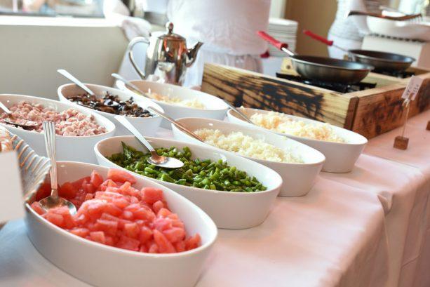 Brunch buffet at Maria & Enzo's at Disney Springs