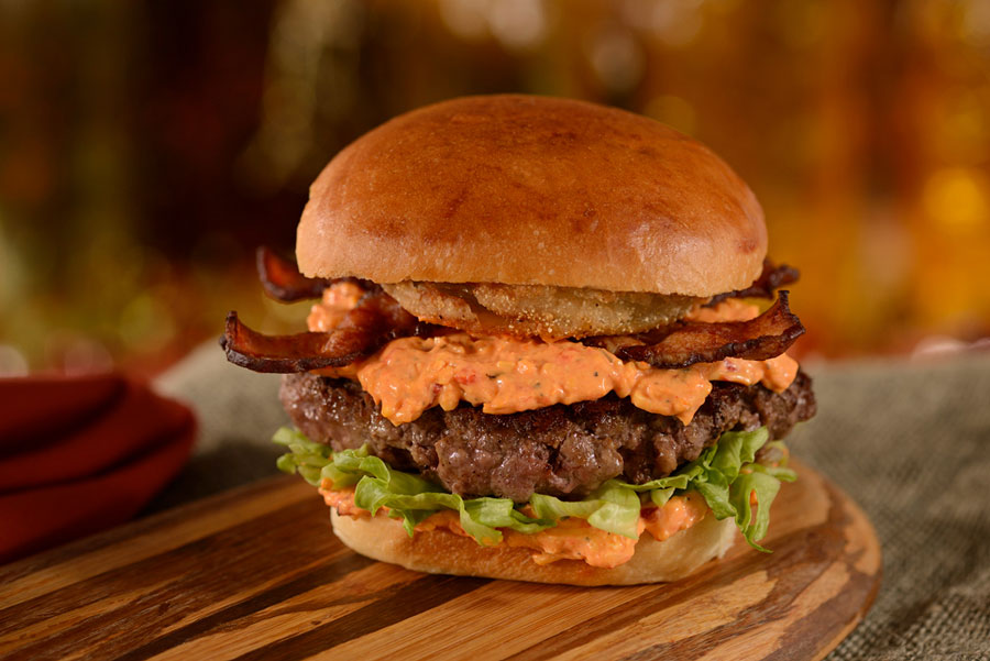 Southern Burger at D-Luxe Burger on the Disney Springs Bourbon Trail