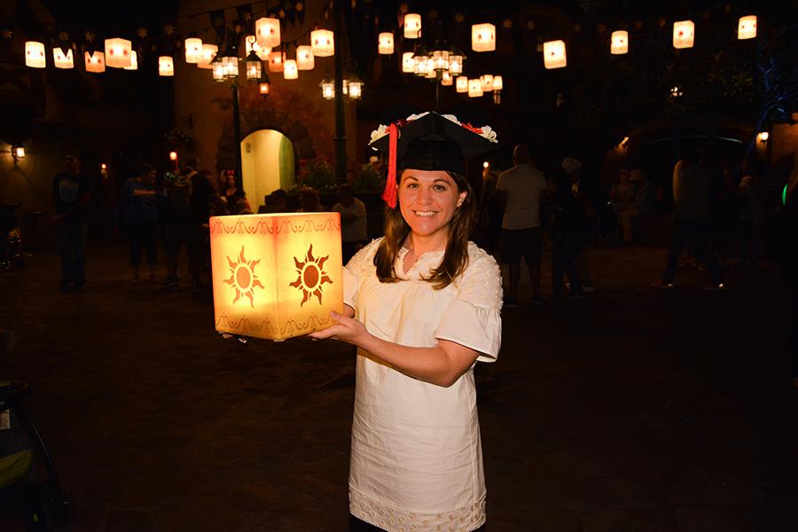 Graduation photos at Walt Disney World