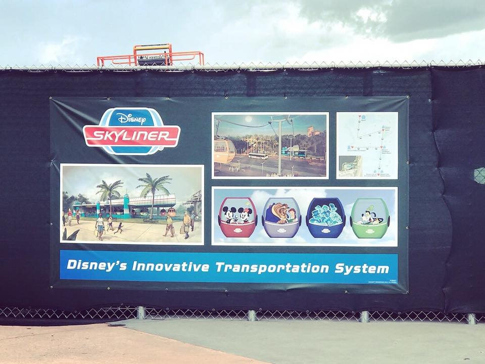 See Photos of the new Disney Skyliner Transportation System! 2