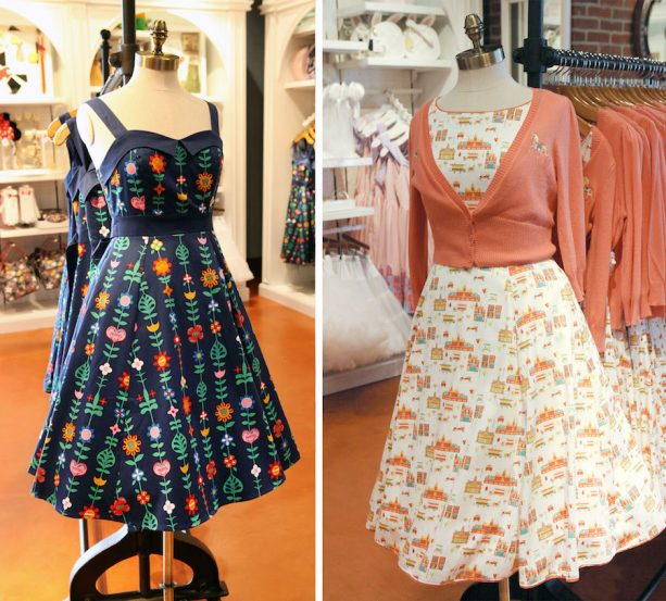 'it's a small world' and Main Street, U.S.A.-inspired dresses at The Dress Shop at Disney Springs