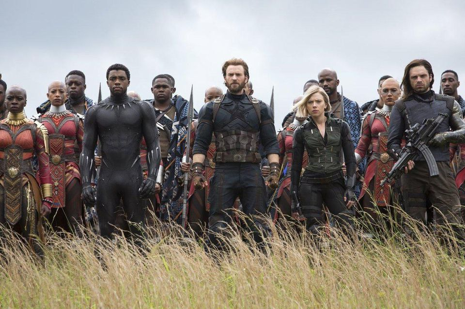 Avengers: Infinity War had the biggest opening weekend of all time! 2