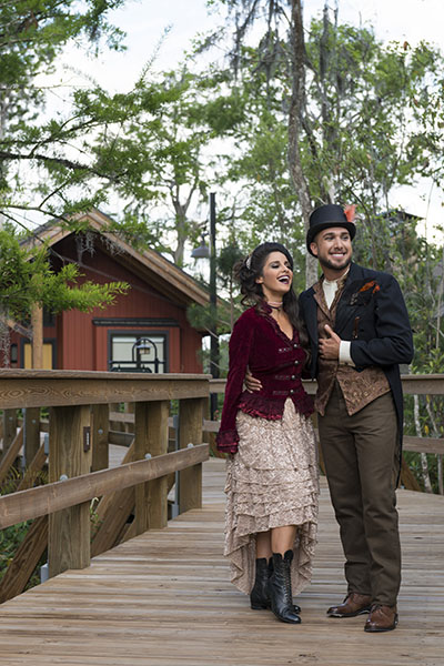 steampunk style at Copper Creek Villas & Cabins