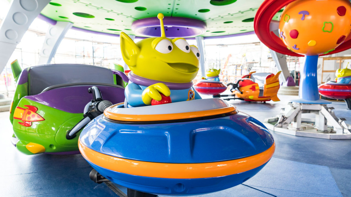 Sneak a Peek at Alien Swirling Saucers at Toy Story Land at Walt Disney World Resort 1