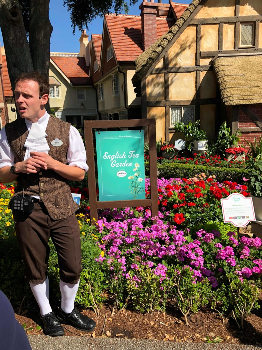 No Scones About It - Review Of The Tea Garden Tour At Epcot 7