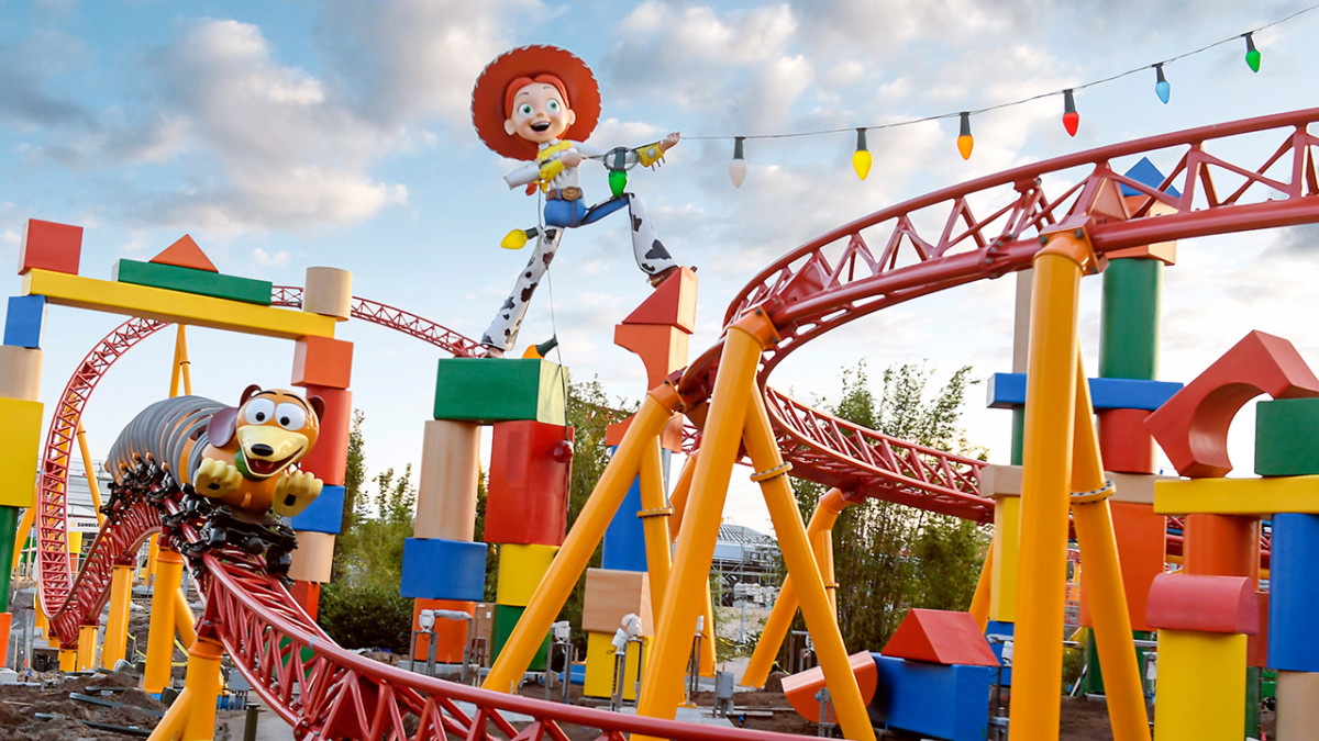 Ride Along With Slinky Dog Dash at Toy Story Land at Disney's Hollywood Studios 17