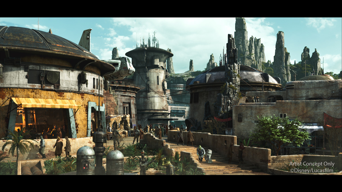 Black Spire Outpost Revealed to be the Name of the Village in Star Wars: Galaxy's Edge 2