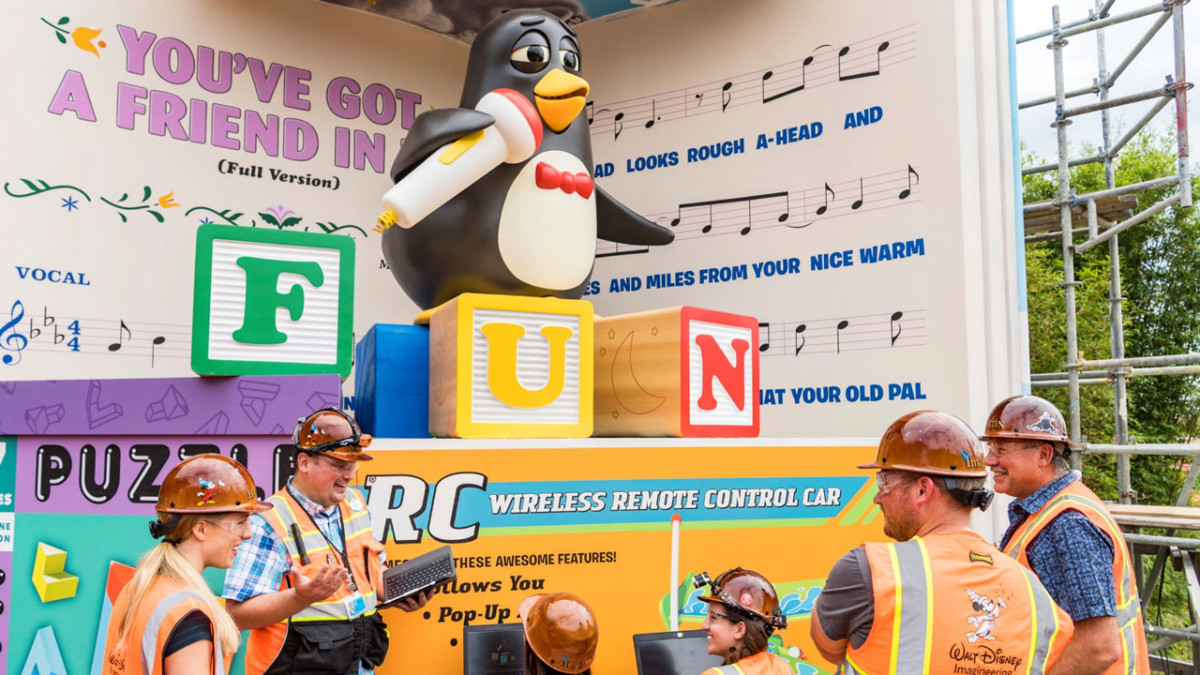 All in the Details: Imagineers Bring Wheezy To Life at Toy Story Land at Walt Disney World 5