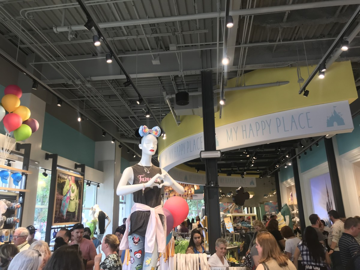 More Photos from the New Disney Style Store at #DisneySprings 13