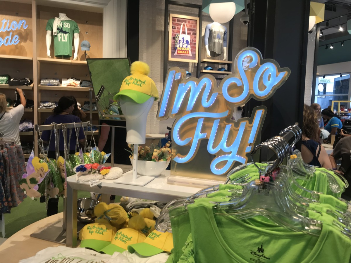 More Photos from the New Disney Style Store at #DisneySprings 11