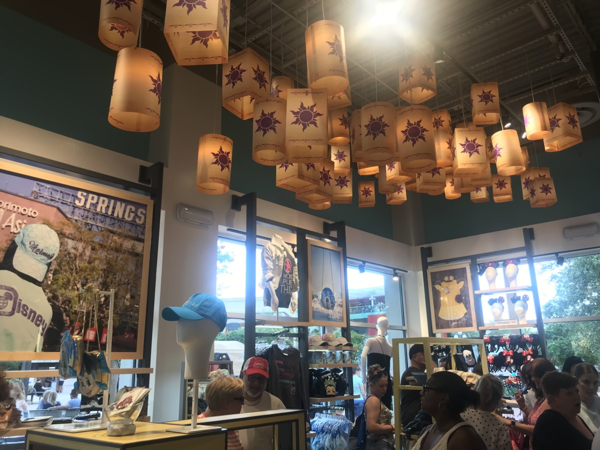 More Photos from the New Disney Style Store at #DisneySprings 2