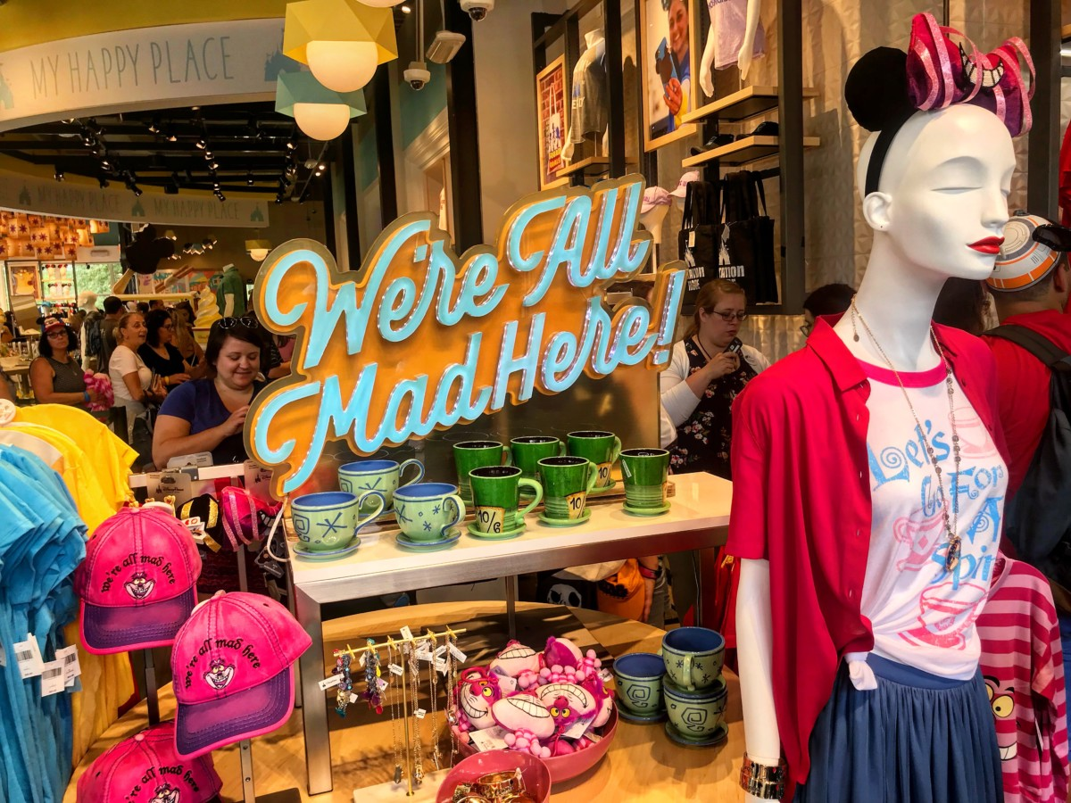 More Photos from the New Disney Style Store at #DisneySprings 6