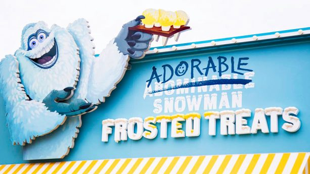 Adorable Snowman Frosted Treats at Disney California Adventure Park