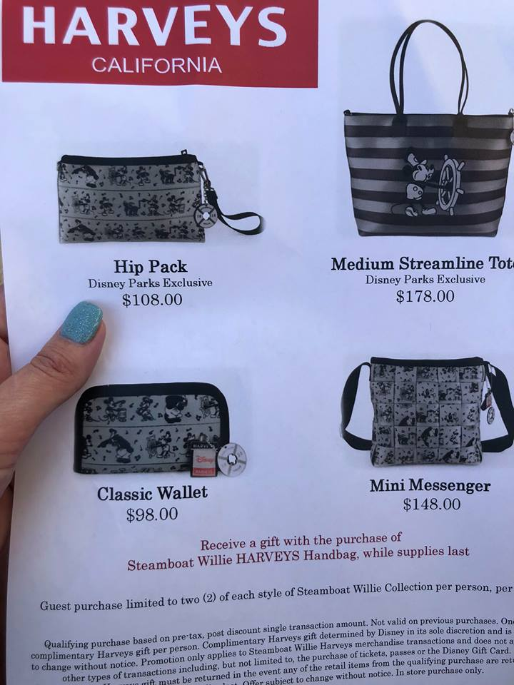 The Steamboat Willie Harveys Event at Disney Springs ~ See Photos Below 2