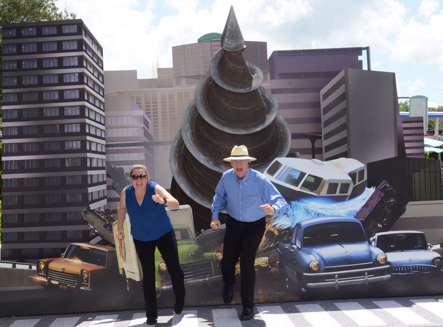 Disney PhotoPass photo ops at the Incredible Tomorrowland Expo in Magic Kingdom Park