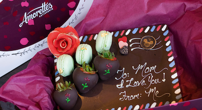 Mother's Day Chocolate Letter at Amorette's Patisserie at Disney Springs