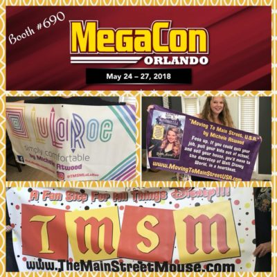 Come see TMSM at MegaCon Orlando, starting today through Sunday! #MegaCon 1