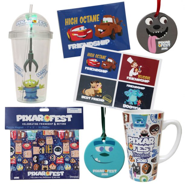 Pixar Fest merchandise at the Disneyland Resort - Home decor and accessories