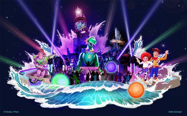 New Concept Art of Disney H2O Glow Nights
