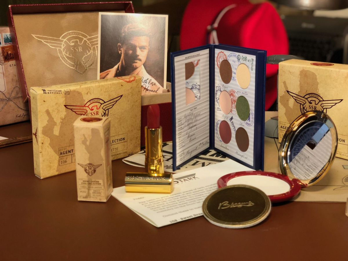 Marvel Makeup Collections from Besame Cosmetics Featuring Agent Carter and Avengers: Infinity War 5