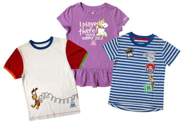 'I Played There' commemorative T-shirts for kids from Toy Story Land at Disney's Hollywood Studios
