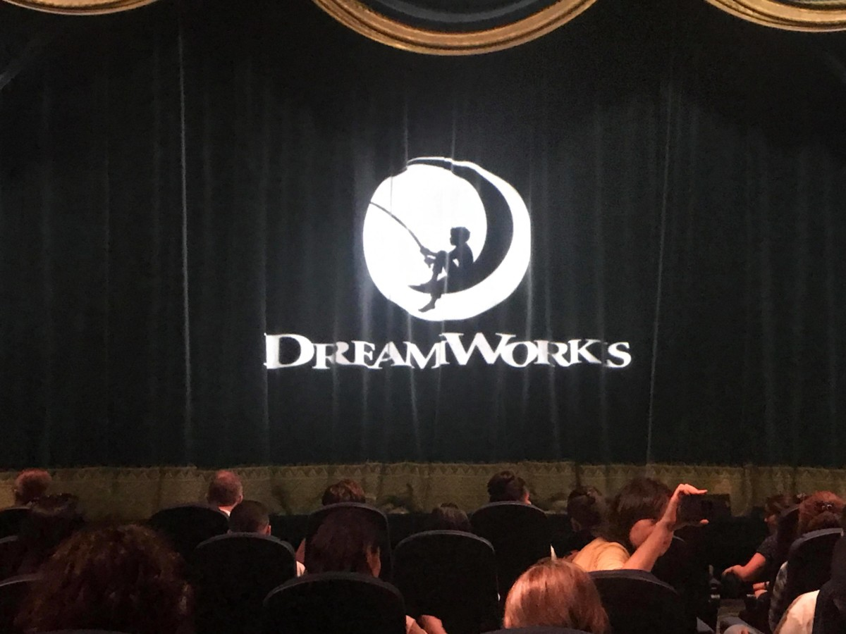 Opening of Dreamworks Theater 1