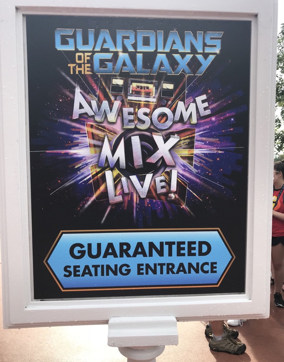 Guaranteed Seating for Passholders at Guardians of the Galaxy Awesome Mix Live 5