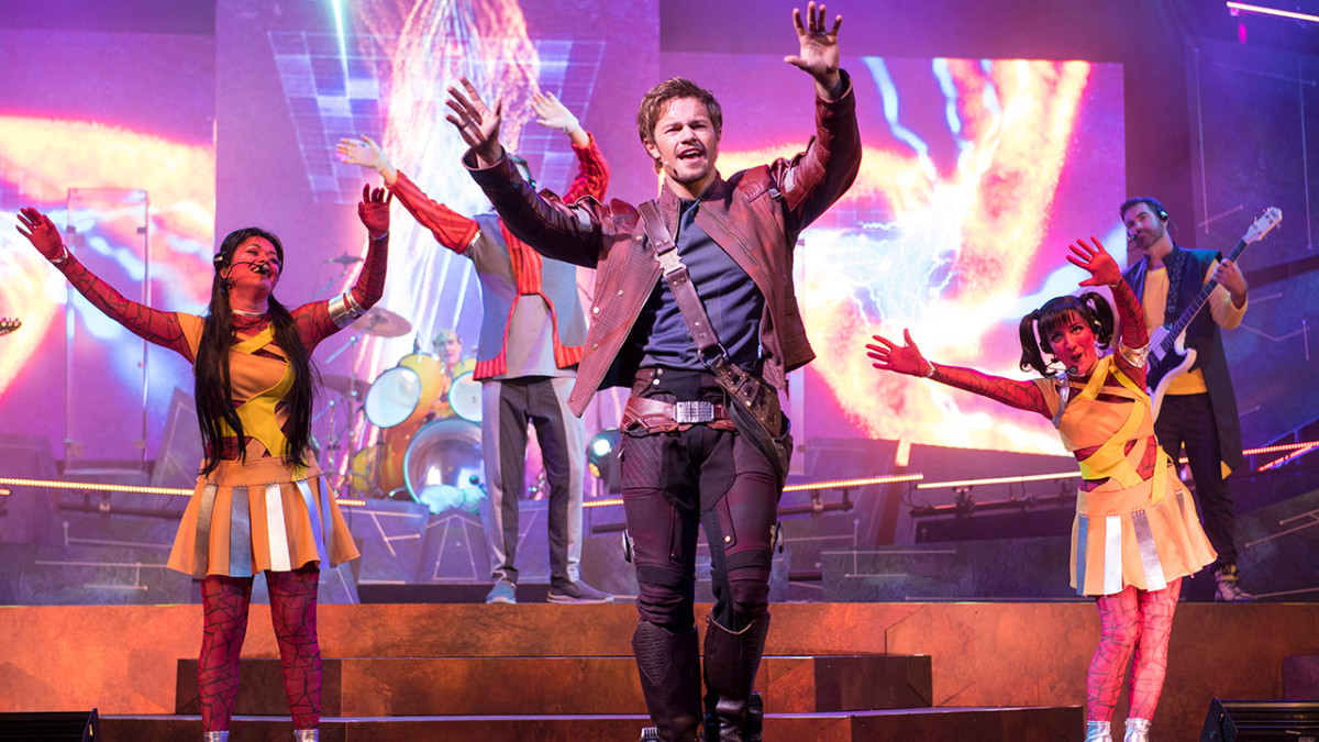 The Guardians of the Galaxy – Awesome Mix Live! Shows Begin June 9 at Epcot 1