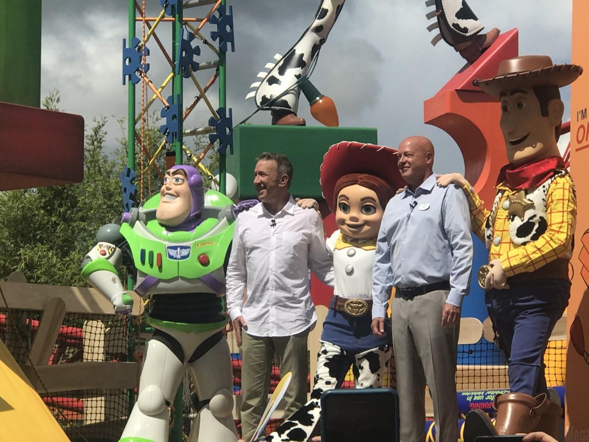 Toy Story Land Dedication Ceremony 1