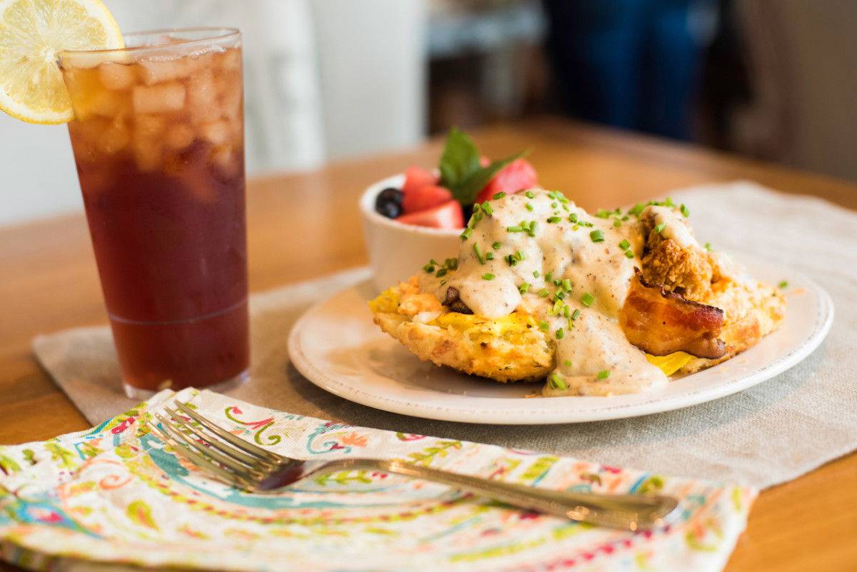 Hallelujah Biscuit from Rise and Shine Southern Brunch at Chef Art Smith's Homecomin' at Disney Springs