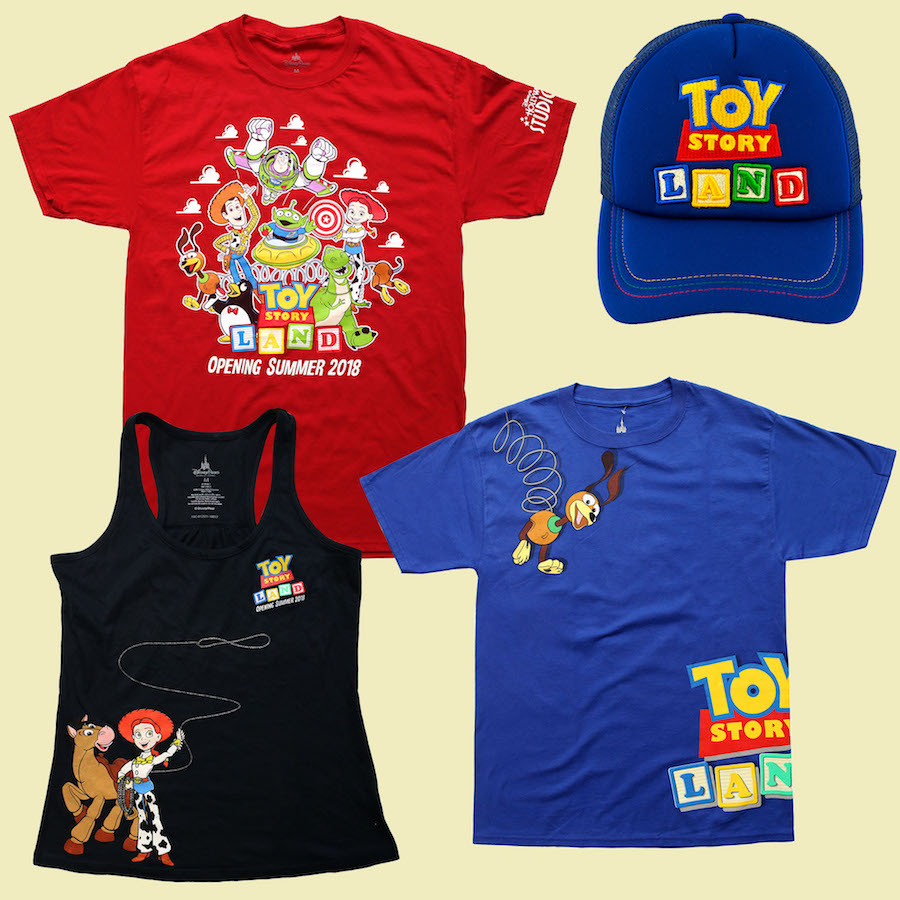 New Merchandise Extends the Story of Toy Story Land This Summer at Disney's Hollywood Studios 2