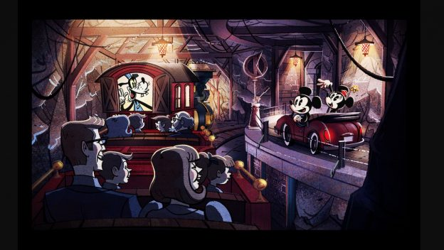 New Image Unveiled for Mickey & Minnie's Runaway Railway 1