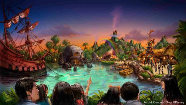 Largest Ever Tokyo DisneySea Expansion Brings a New Themed Port in 2022 4