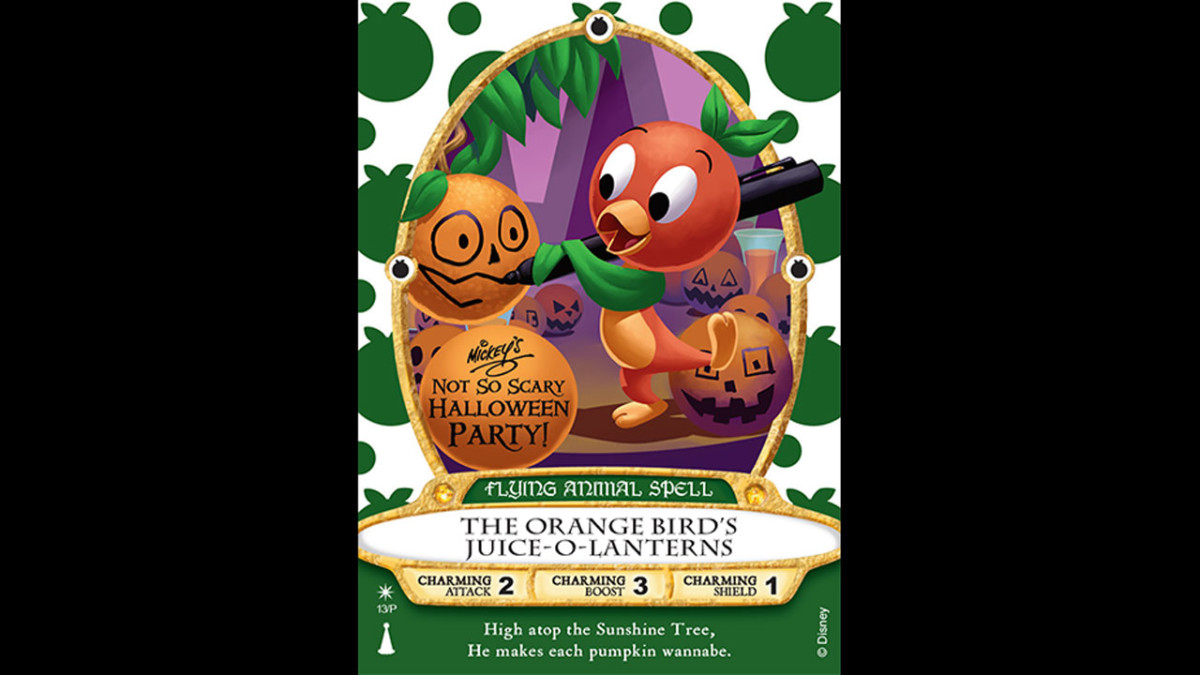 Orange Bird Sorcerers of the Magic Kingdom Card To Be Released at Mickey's Not-So-Scary Halloween Parties 1