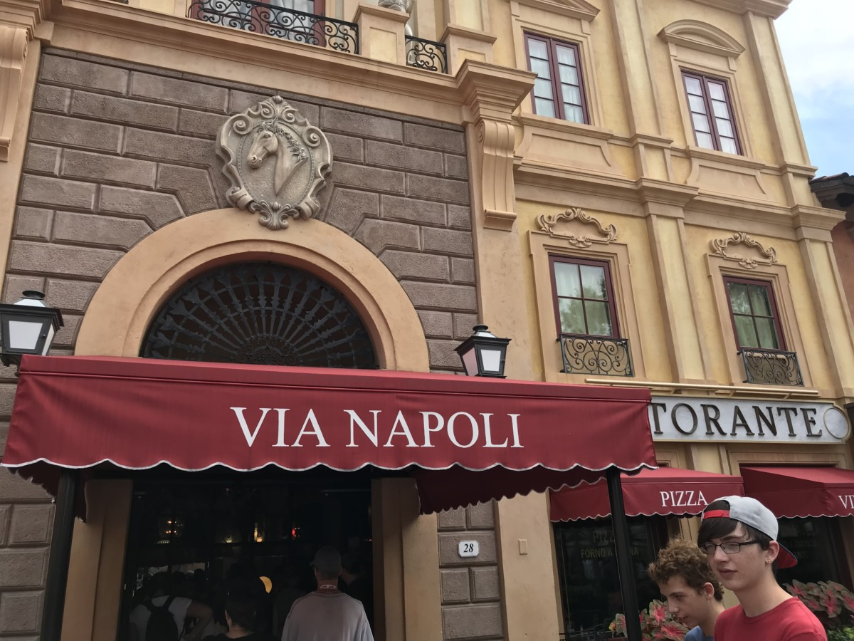 Updates Coming to Via Napoli in World Showcase! 8